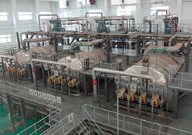 Sewage sludge dryers for Foshan City