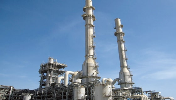 Waste liquid combustion facility (Saudi Arabia)
