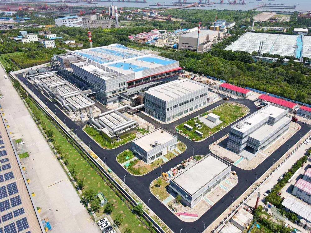 中国下水処理場向け汚泥脱水・乾燥・焼却設備