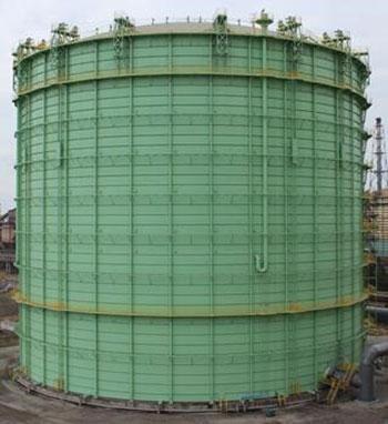 Dry-seal Gas Holder